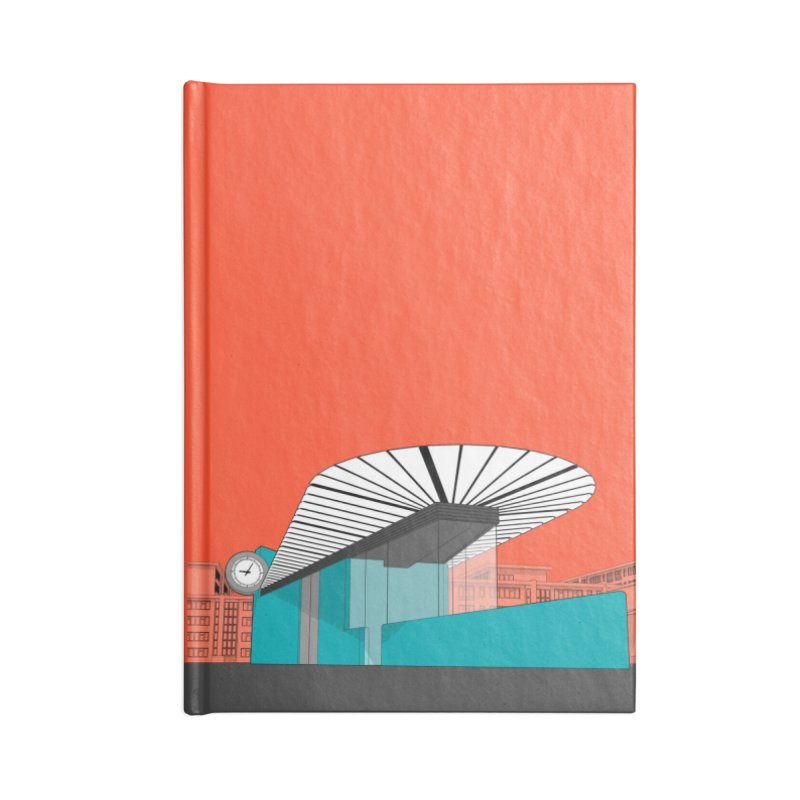 Turquoise Island Accessories Blank Journal Notebook by Pig's Ear Gear on Threadless