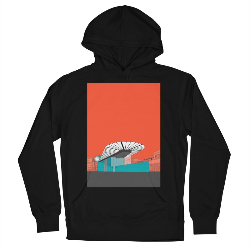 Turquoise Island Women's French Terry Pullover Hoody by Pig's Ear Gear on Threadless