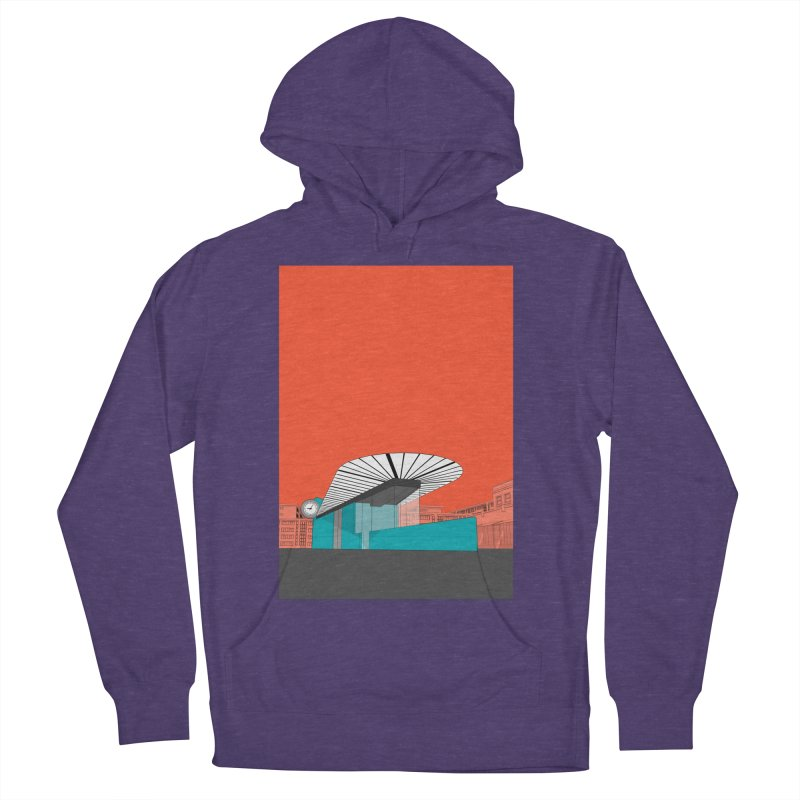 Turquoise Island Men's French Terry Pullover Hoody by Pig's Ear Gear on Threadless