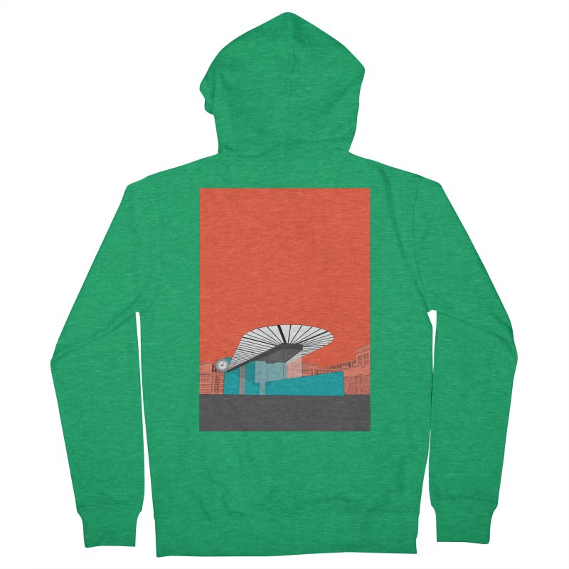 Turquoise Island Women's Zip-Up Hoody by Pig's Ear Gear on Threadless