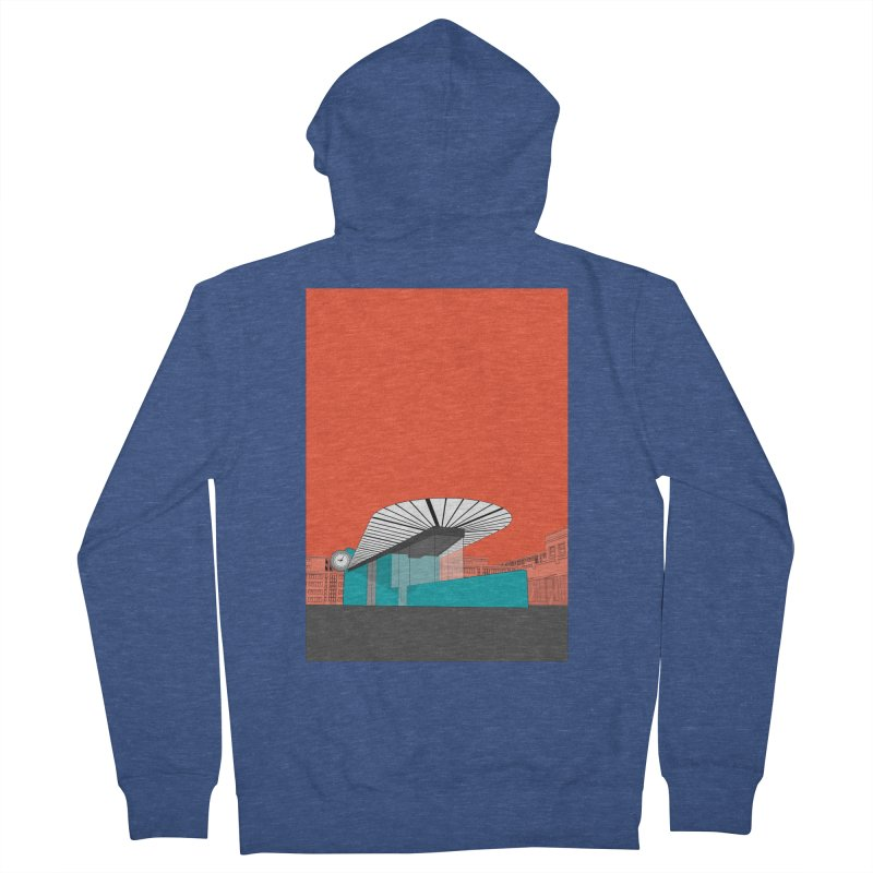 Turquoise Island Women's French Terry Zip-Up Hoody by Pig's Ear Gear on Threadless