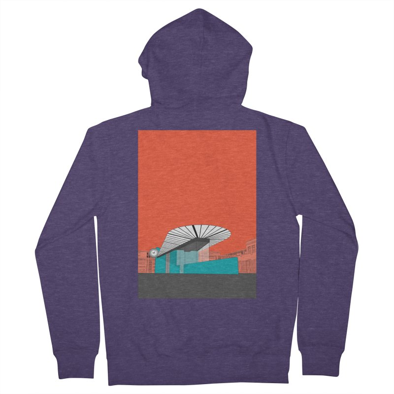 Turquoise Island Men's French Terry Zip-Up Hoody by Pig's Ear Gear on Threadless