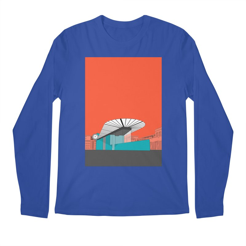 Turquoise Island Men's Regular Longsleeve T-Shirt by Pig's Ear Gear on Threadless