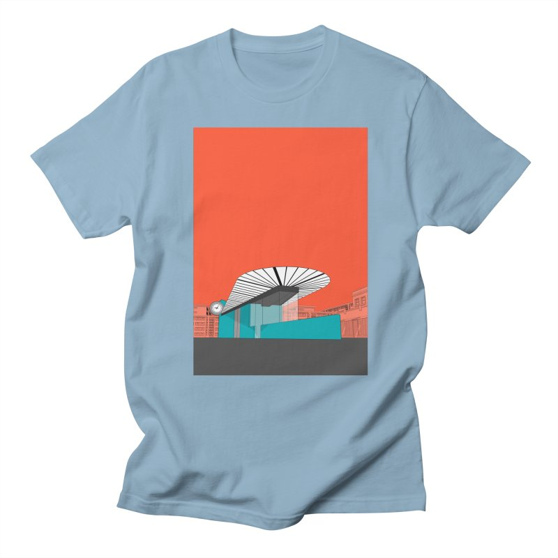 Turquoise Island Men's Regular T-Shirt by Pig's Ear Gear on Threadless