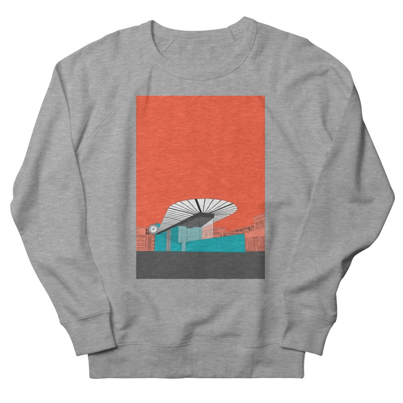 Turquoise Island Men's French Terry Sweatshirt by Pig's Ear Gear on Threadless