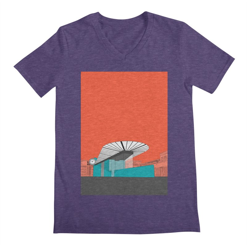 Turquoise Island Men's V-Neck by Pig's Ear Gear on Threadless