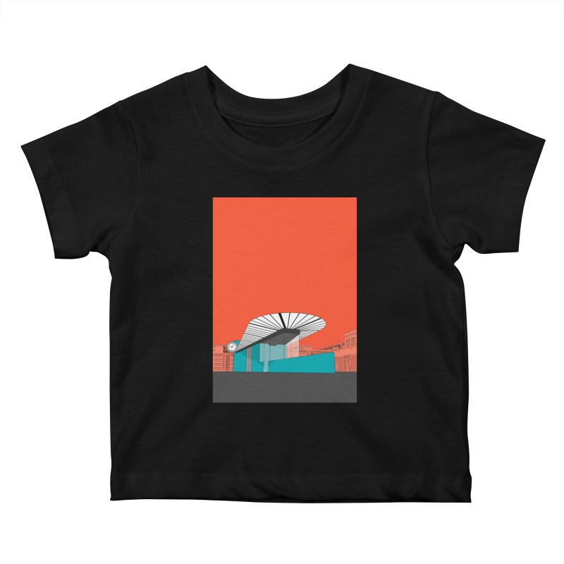 Turquoise Island Kids Baby T-Shirt by Pig's Ear Gear on Threadless