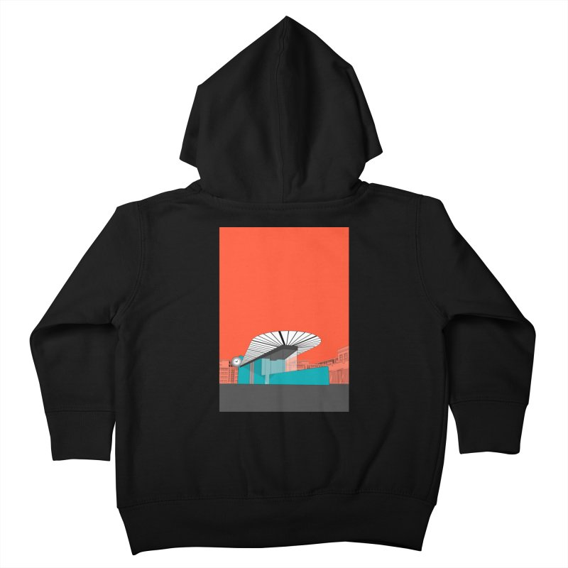 Turquoise Island Kids Toddler Zip-Up Hoody by Pig's Ear Gear on Threadless