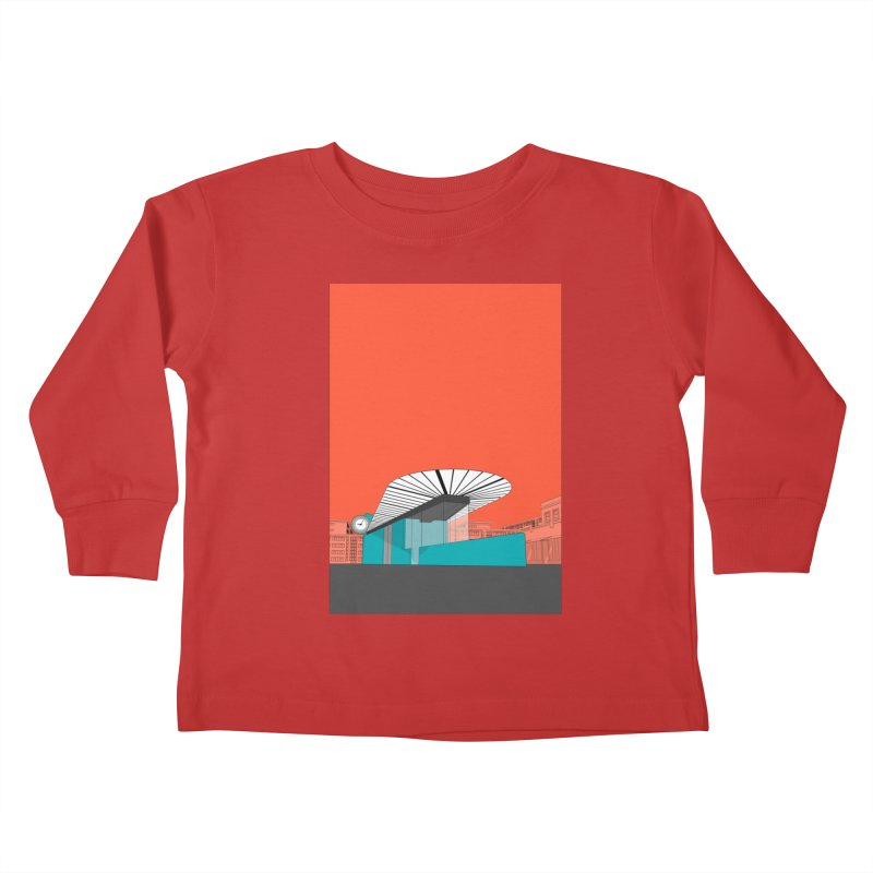 Turquoise Island Kids Toddler Longsleeve T-Shirt by Pig's Ear Gear on Threadless