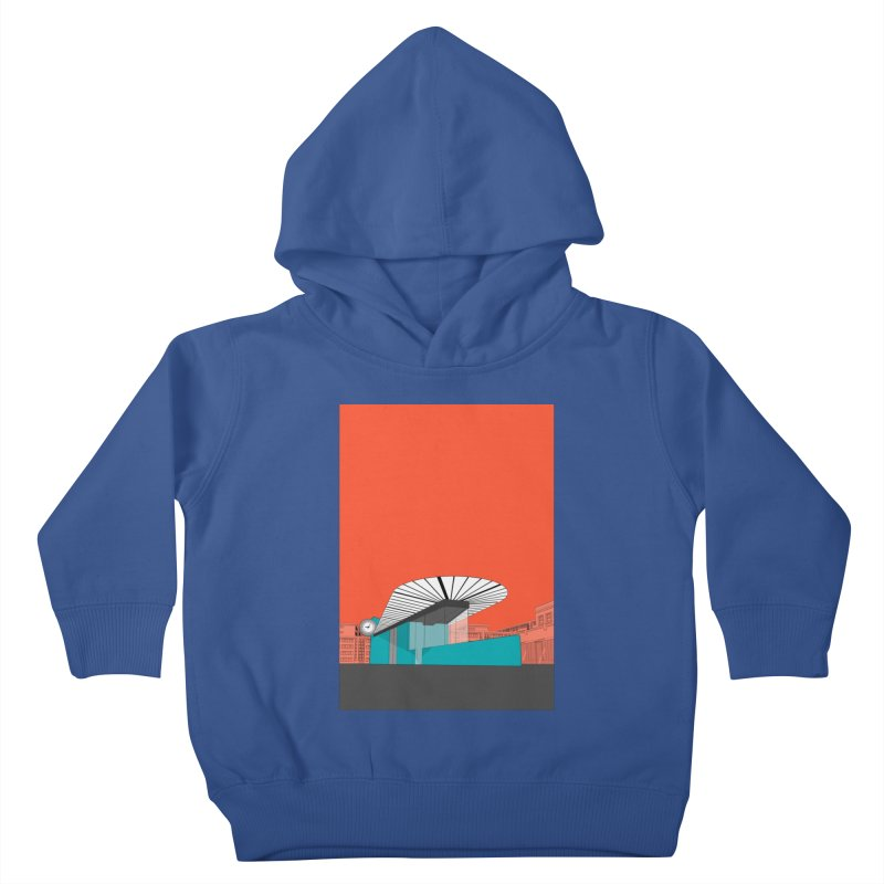Turquoise Island Kids Toddler Pullover Hoody by Pig's Ear Gear on Threadless