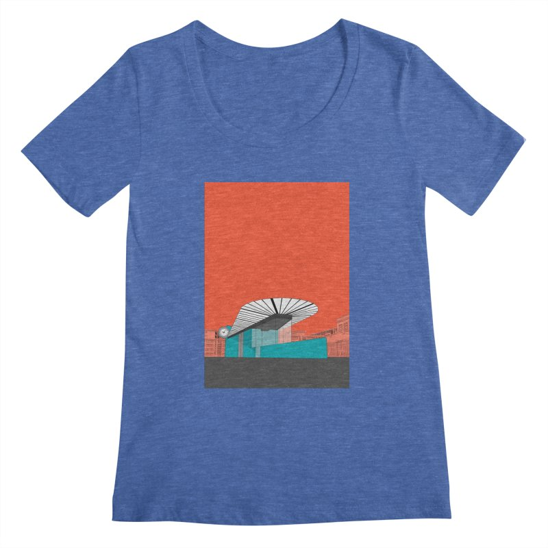 Turquoise Island Women's Regular Scoop Neck by Pig's Ear Gear on Threadless