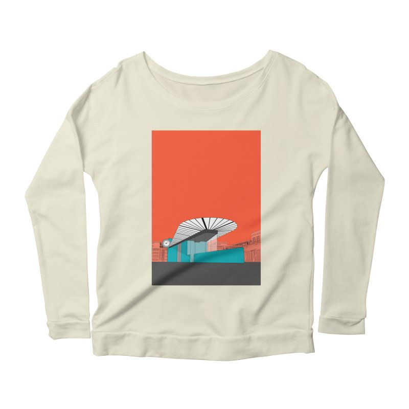 Turquoise Island Women's Scoop Neck Longsleeve T-Shirt by Pig's Ear Gear on Threadless