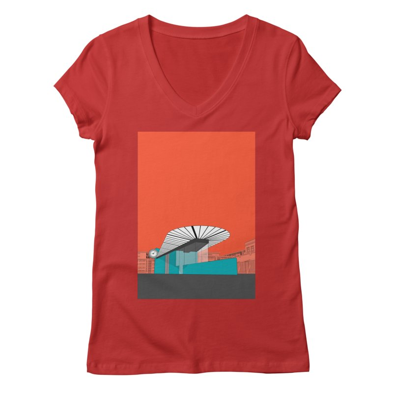 Turquoise Island Women's Regular V-Neck by Pig's Ear Gear on Threadless
