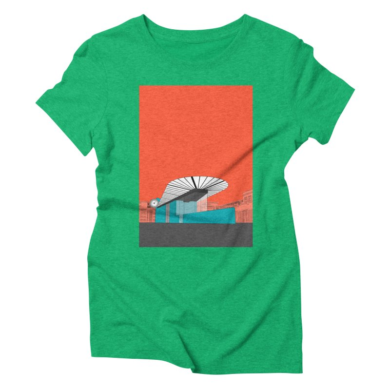 Turquoise Island Women's Triblend T-Shirt by Pig's Ear Gear on Threadless
