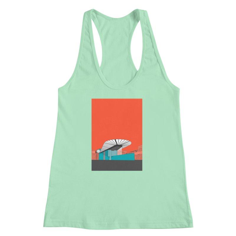 Turquoise Island Women's Racerback Tank by Pig's Ear Gear on Threadless