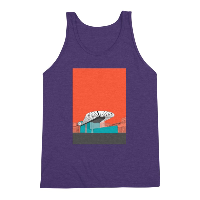 Turquoise Island Men's Triblend Tank by Pig's Ear Gear on Threadless