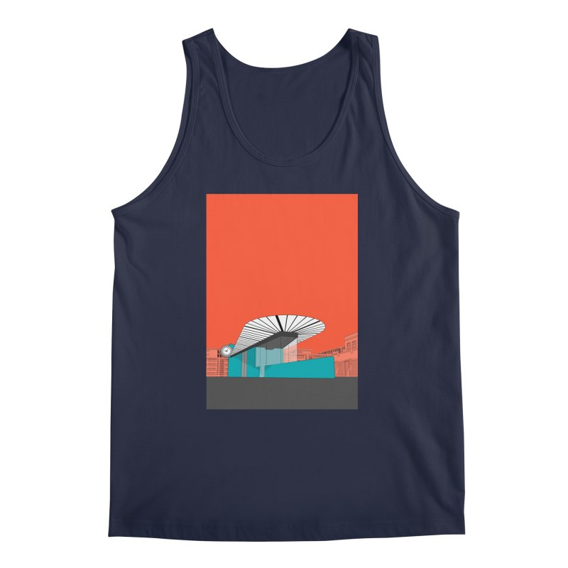 Turquoise Island Men's Regular Tank by Pig's Ear Gear on Threadless