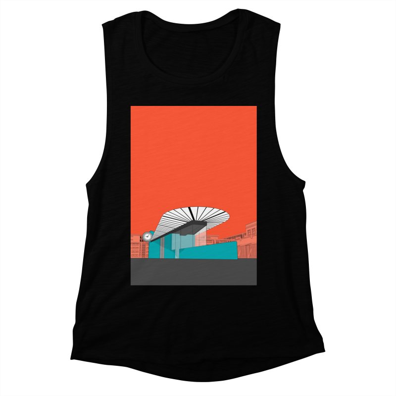 Turquoise Island Women's Muscle Tank by Pig's Ear Gear on Threadless