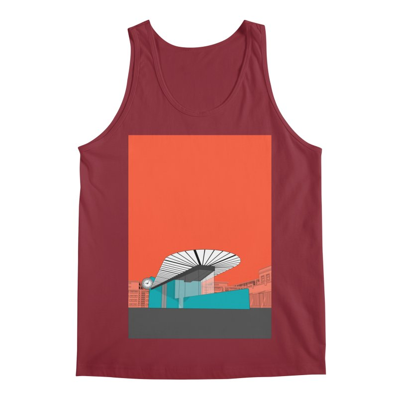 Turquoise Island Men's Tank by Pig's Ear Gear on Threadless