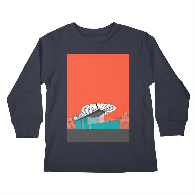 Turquoise Island Kids Longsleeve T-Shirt by Pig's Ear Gear on Threadless