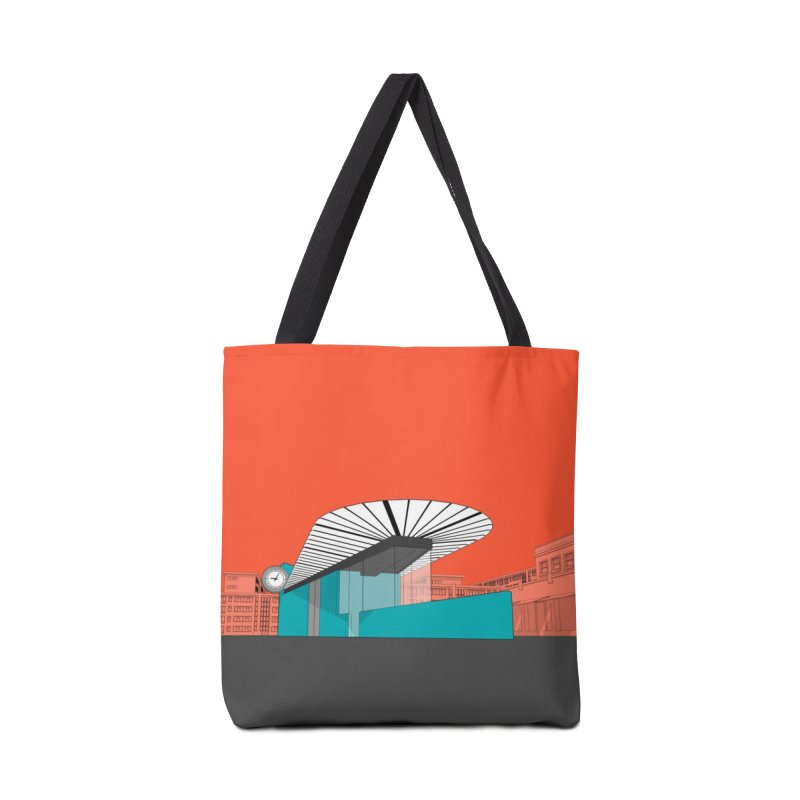 Turquoise Island Accessories Tote Bag Bag by Pig's Ear Gear on Threadless