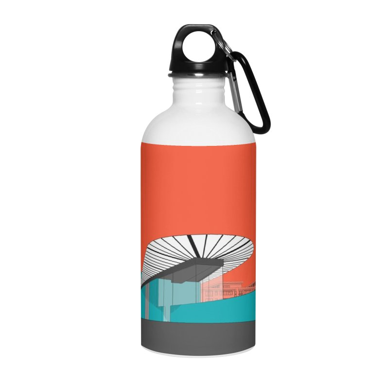 Turquoise Island Accessories Water Bottle by Pig's Ear Gear on Threadless