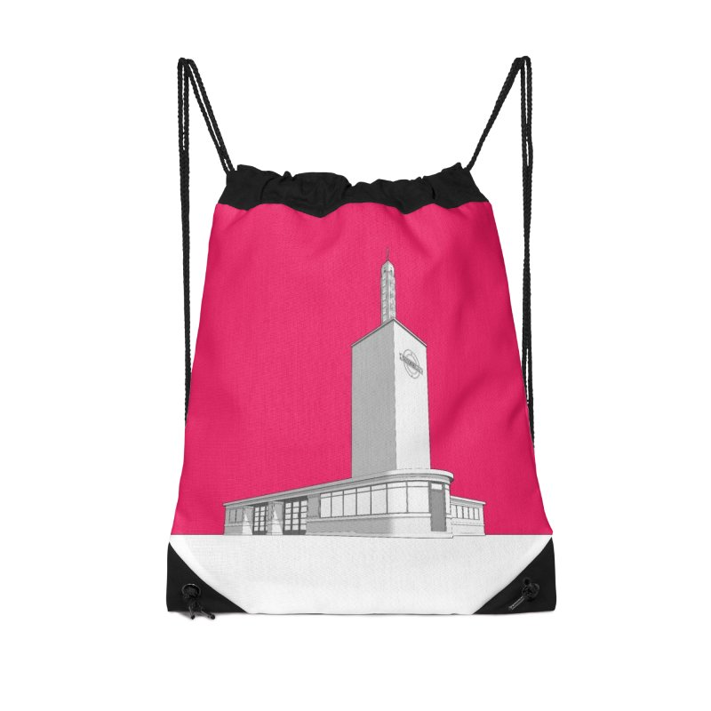 Osterley Station Accessories Drawstring Bag Bag by Pig's Ear Gear on Threadless