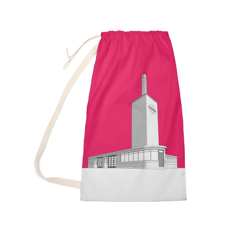 Osterley Station Accessories Laundry Bag Bag by Pig's Ear Gear on Threadless