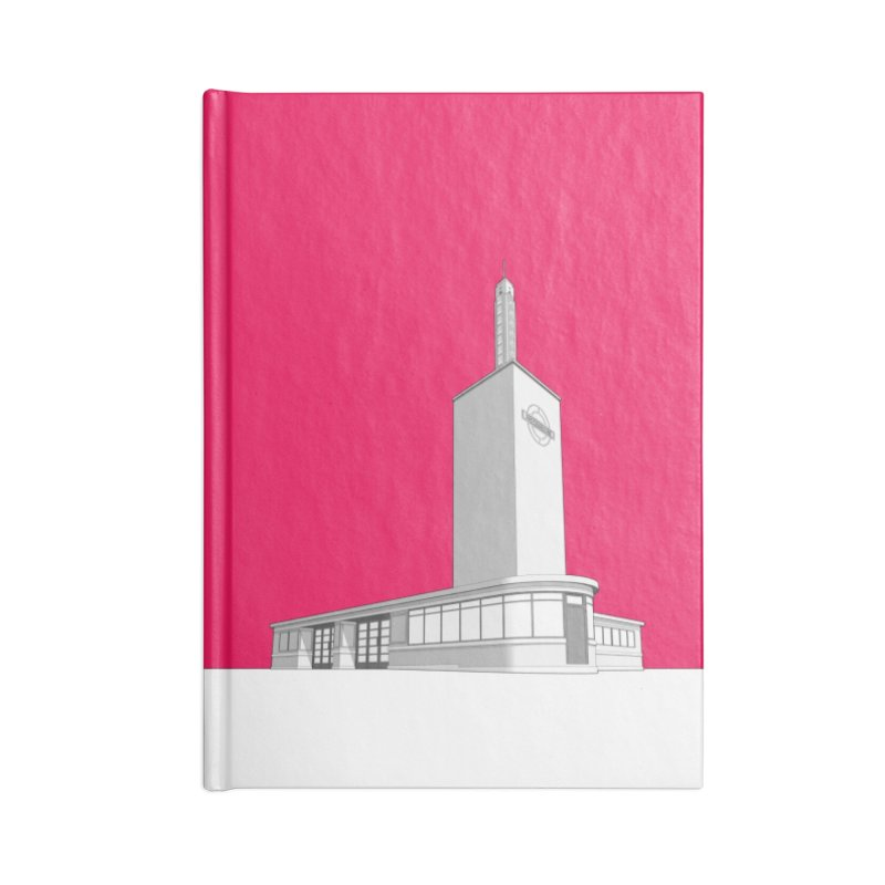 Osterley Station Accessories Lined Journal Notebook by Pig's Ear Gear on Threadless