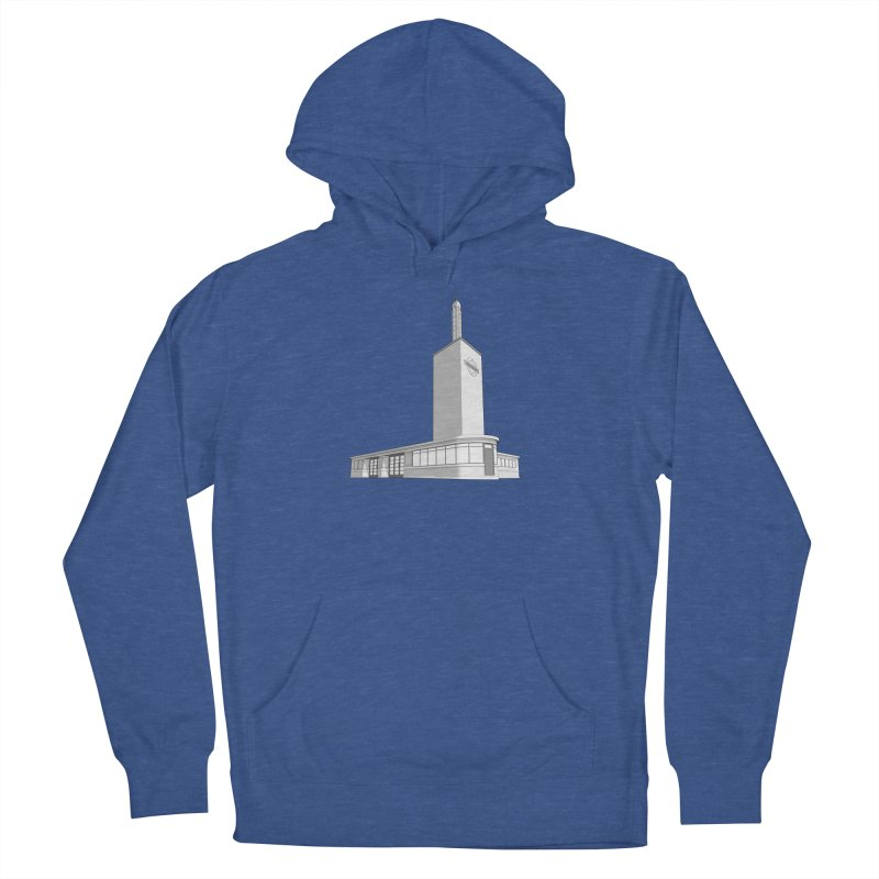 Osterley Station Women's French Terry Pullover Hoody by Pig's Ear Gear on Threadless