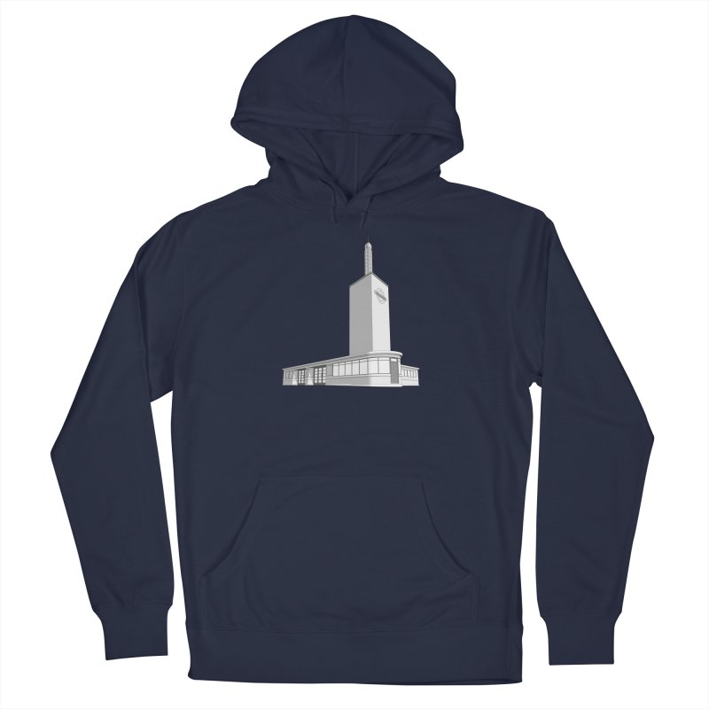 Osterley Station Men's French Terry Pullover Hoody by Pig's Ear Gear on Threadless