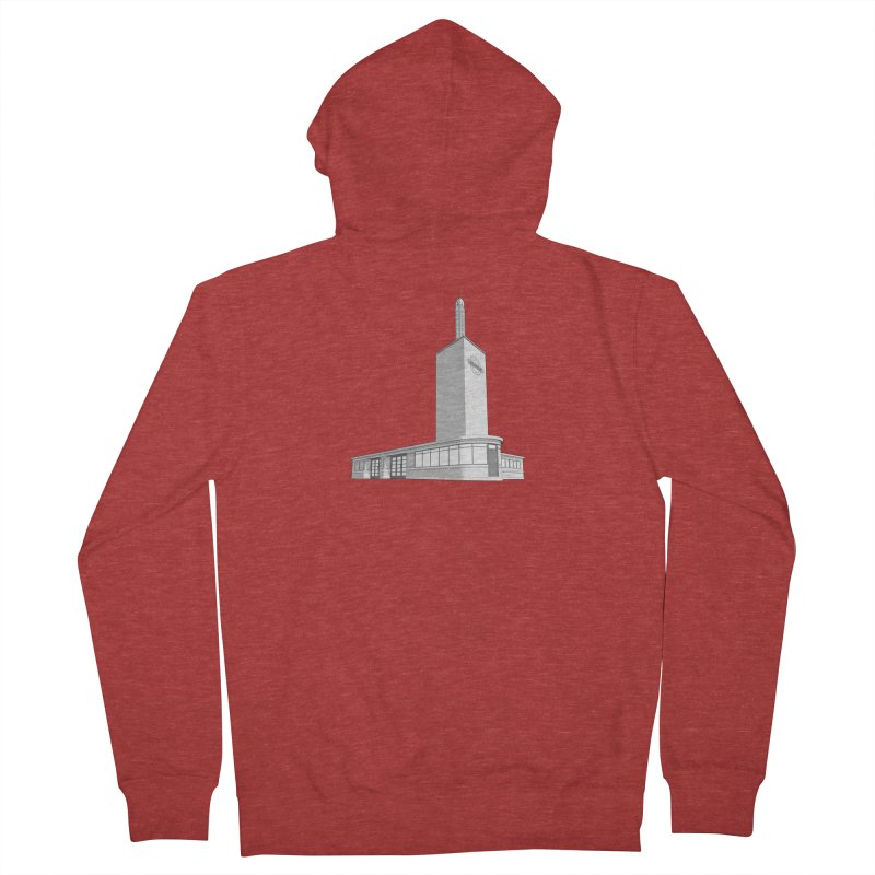 Osterley Station Women's French Terry Zip-Up Hoody by Pig's Ear Gear on Threadless