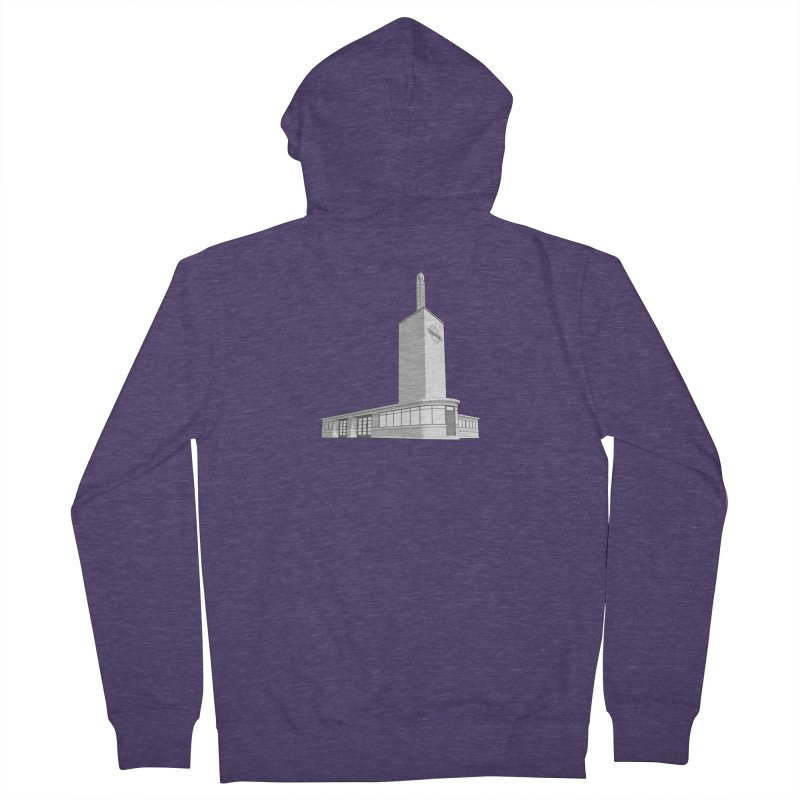 Osterley Station Men's French Terry Zip-Up Hoody by Pig's Ear Gear on Threadless