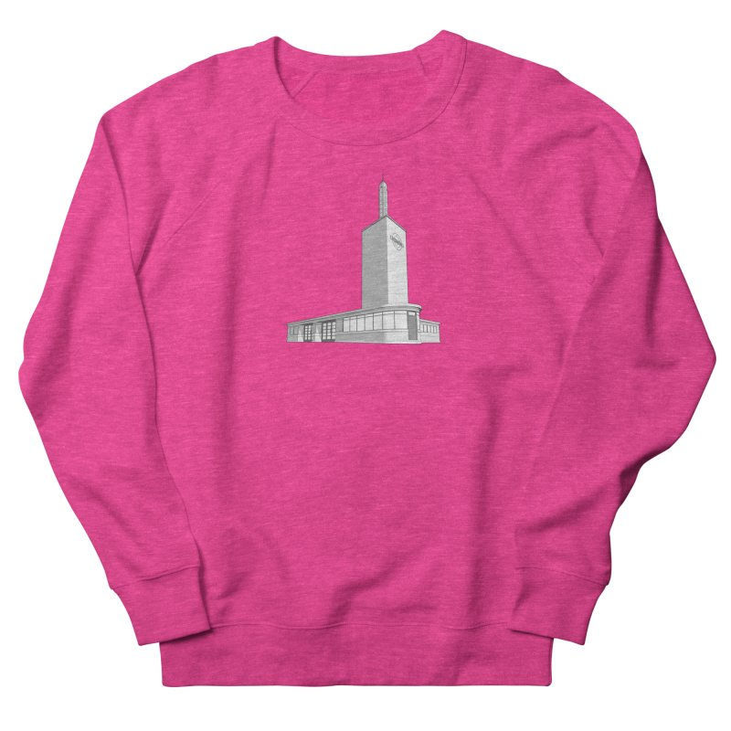 Osterley Station Men's French Terry Sweatshirt by Pig's Ear Gear on Threadless
