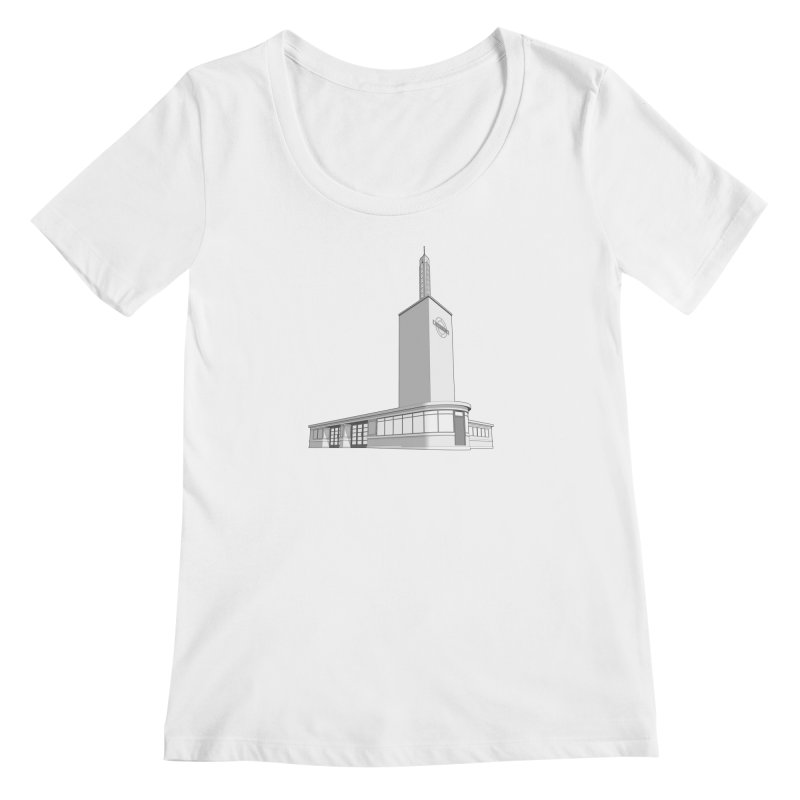 Osterley Station Women's Regular Scoop Neck by Pig's Ear Gear on Threadless