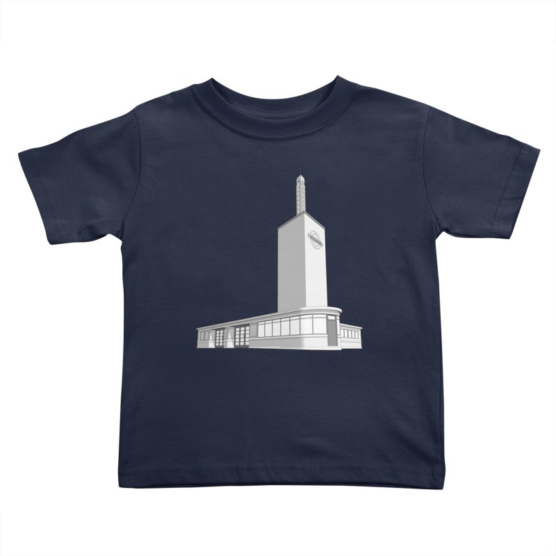 Osterley Station Kids Toddler T-Shirt by Pig's Ear Gear on Threadless