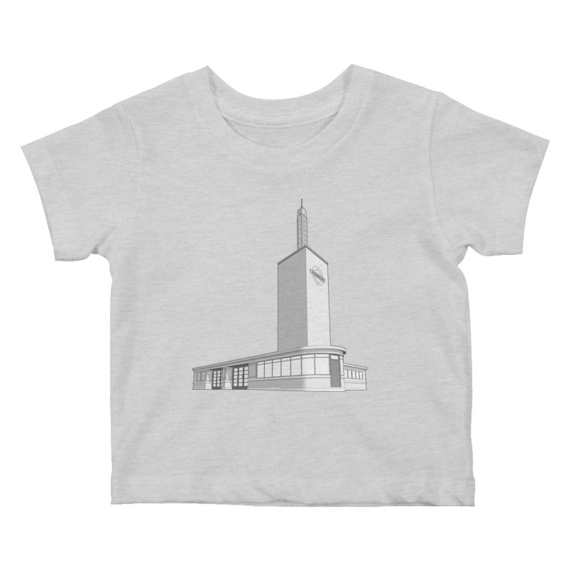 Osterley Station Kids Baby T-Shirt by Pig's Ear Gear on Threadless