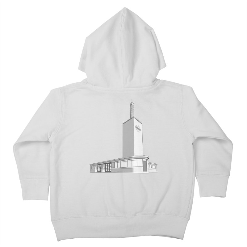 Osterley Station Kids Toddler Zip-Up Hoody by Pig's Ear Gear on Threadless