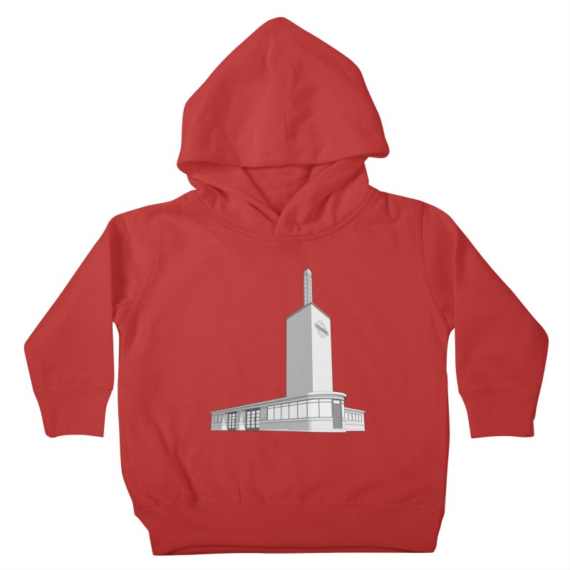 Osterley Station Kids Toddler Pullover Hoody by Pig's Ear Gear on Threadless