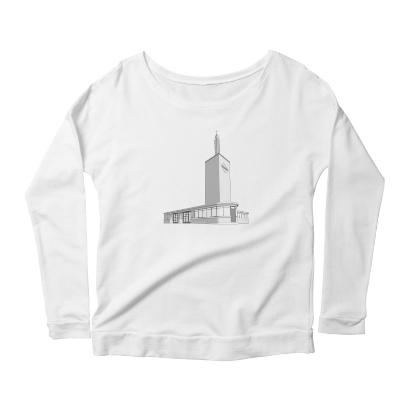 Osterley Station Women's Scoop Neck Longsleeve T-Shirt by Pig's Ear Gear on Threadless