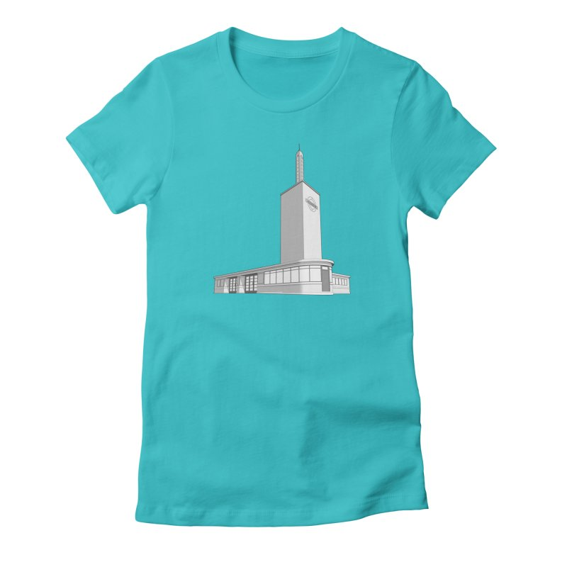 Osterley Station Women's Fitted T-Shirt by Pig's Ear Gear on Threadless