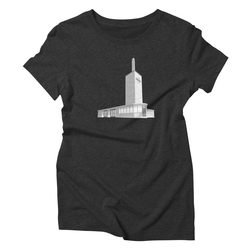 Osterley Station Women's Triblend T-Shirt by Pig's Ear Gear on Threadless