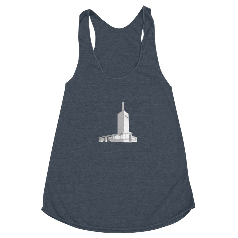 Osterley Station Women's Racerback Triblend Tank by Pig's Ear Gear on Threadless