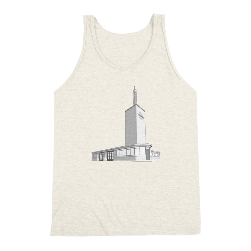 Osterley Station Men's Triblend Tank by Pig's Ear Gear on Threadless