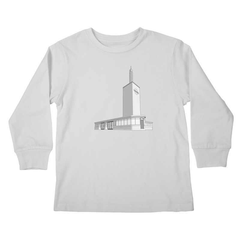 Osterley Station Kids Longsleeve T-Shirt by Pig's Ear Gear on Threadless