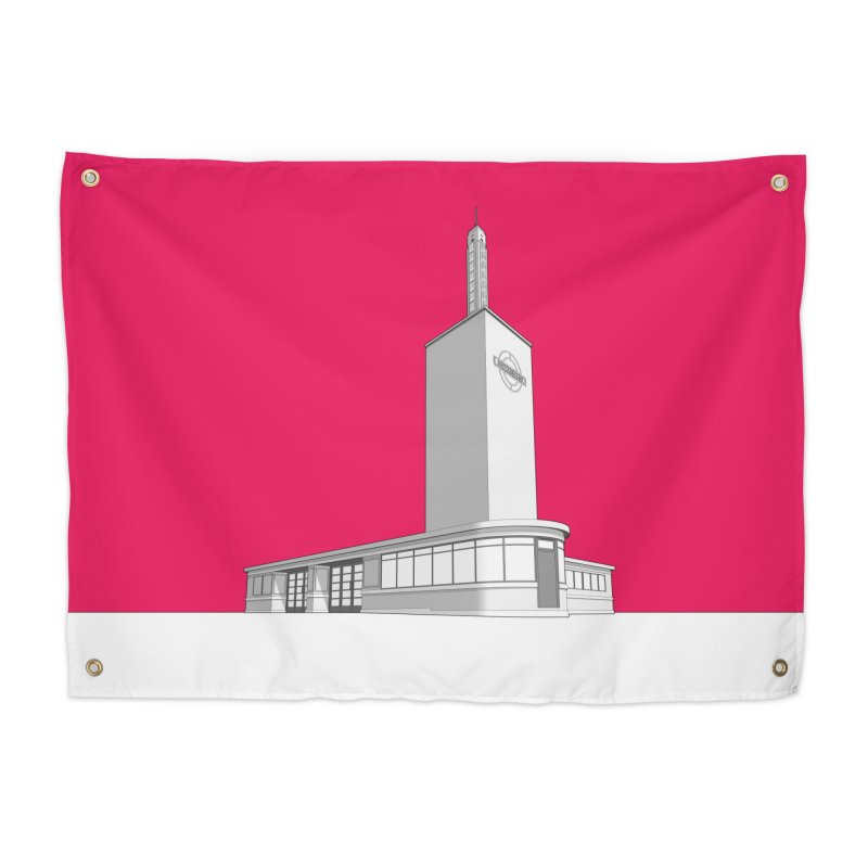 Osterley Station Home Tapestry by Pig's Ear Gear on Threadless