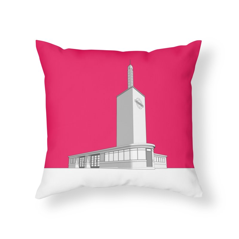 Osterley Station Home Throw Pillow by Pig's Ear Gear on Threadless
