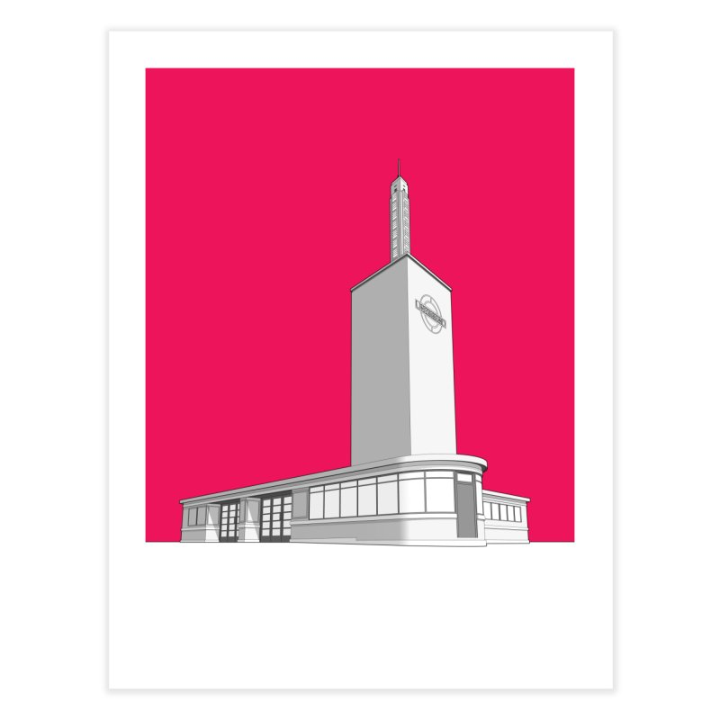 Osterley Station Home Fine Art Print by Pig's Ear Gear on Threadless