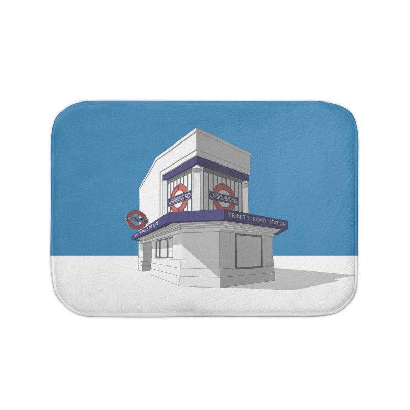 Trinity Road (Tooting Bec) Home Bath Mat by Pig's Ear Gear on Threadless