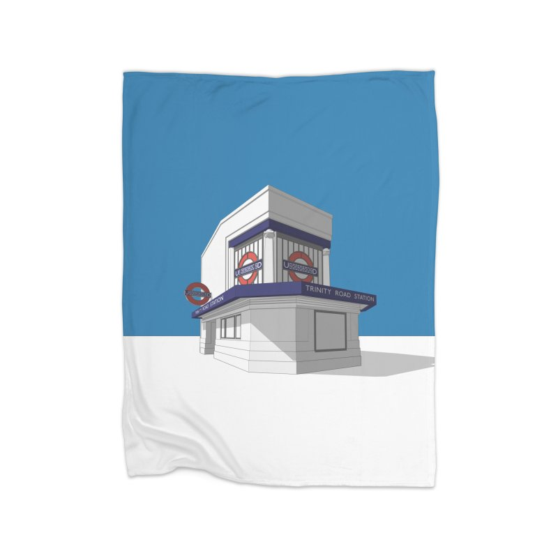 Trinity Road (Tooting Bec) Home Blanket by Pig's Ear Gear on Threadless